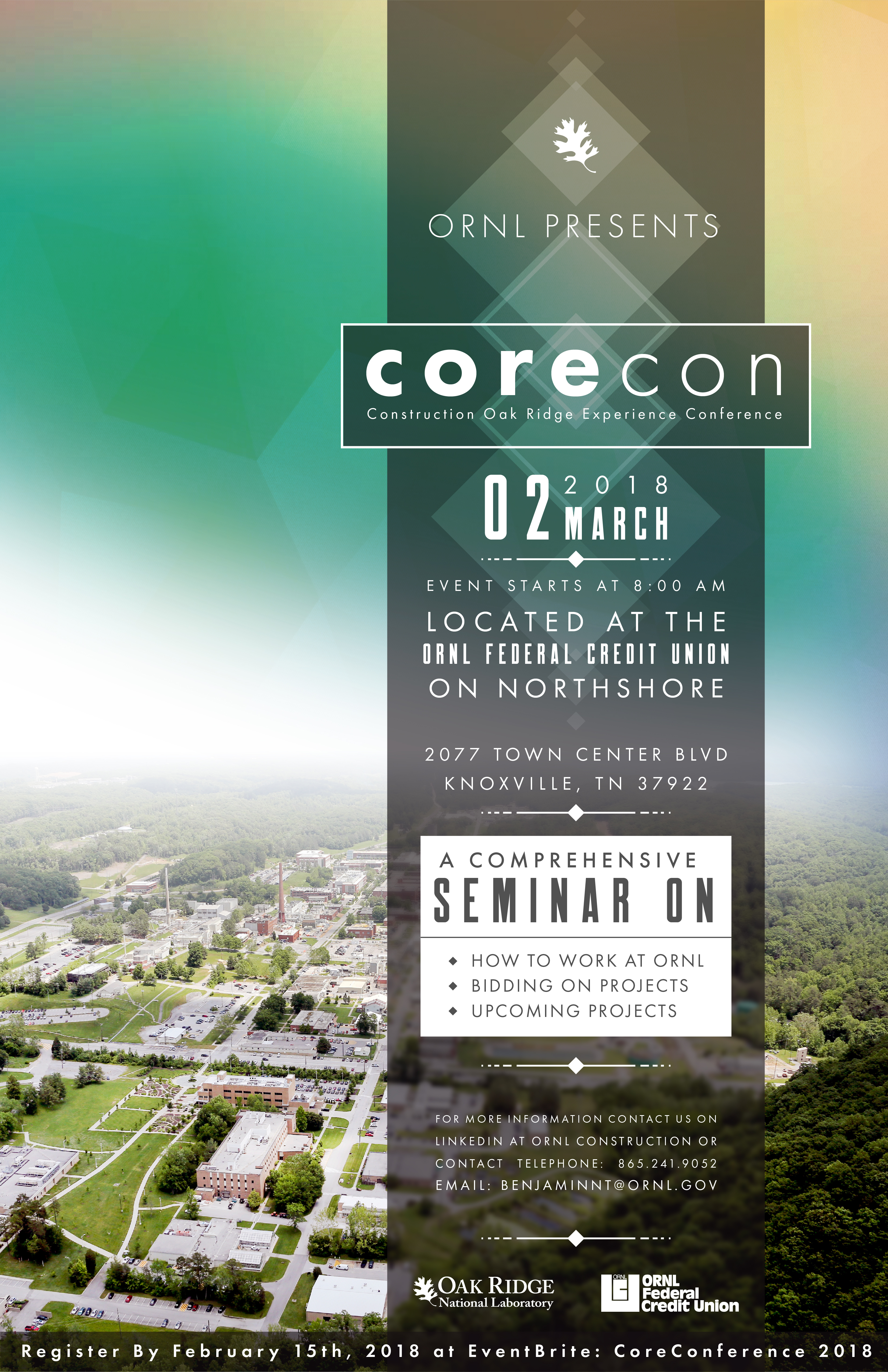 ORNL CoreCon Flyer